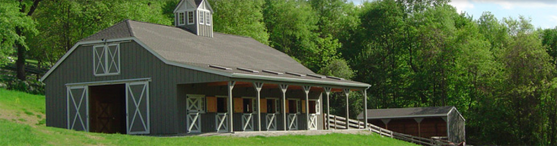 Empire stables of Putnam Valley has a beautiful view of the valley